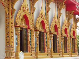 Buddhistische Heilungsrituale in Tempeln