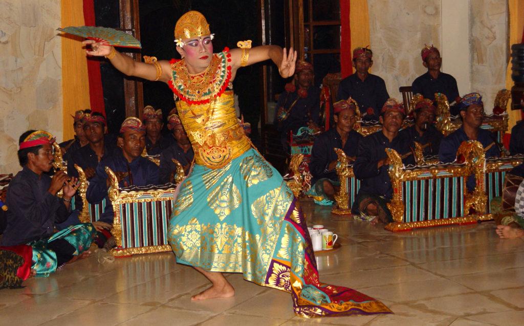 Balinesische Tanzaufführung